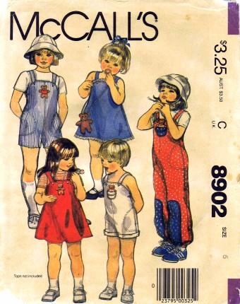 McCalls 1984 8902