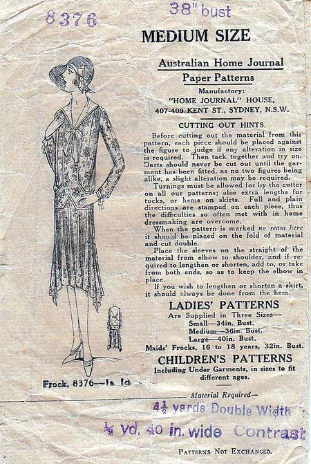 Pattern - Australian Home Journal 8376 02
