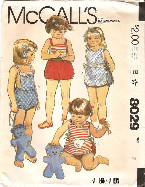 McCalls 1982 8029
