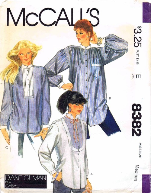 McCalls 1983 8382