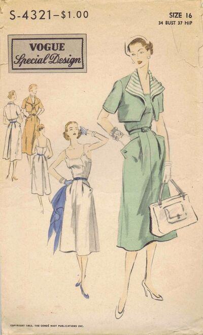 Vogue 1952 S-4321
