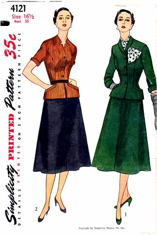 Simplicity 1952 4121