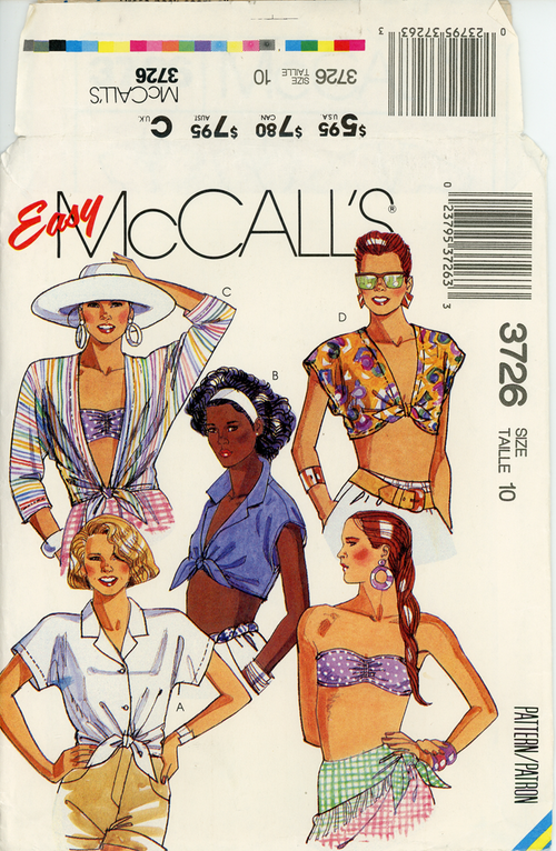 McCall's-3726front