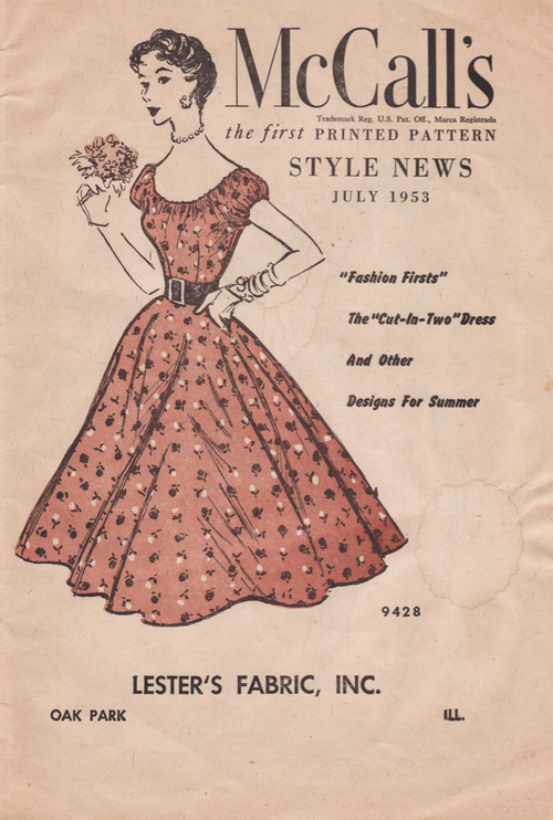 McCall's Style News July 195