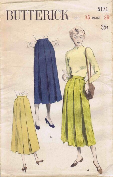 Butterick 1950 5171