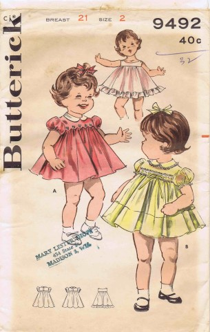 Butterick 9492