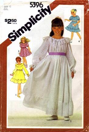 Simplicity 1981 5396