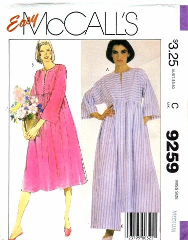 McCalls 1984 9259