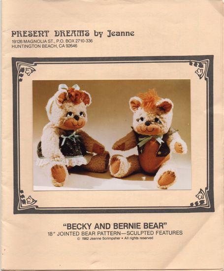 Becky and Bernie Bear