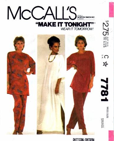McCalls 1981 7781