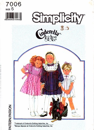 Simplicity 1985 7006