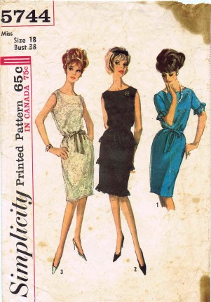 Simplicity 1964 5744