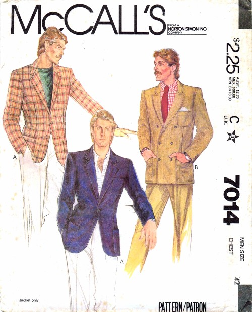 McCalls 1980 7014