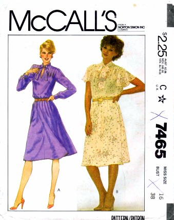 McCalls 1981 7465