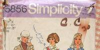 Simplicity 5856 A