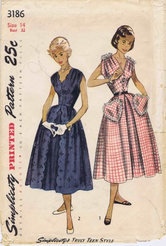 Simplicity 1950 3186