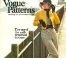 Vogue Patterns October/November 1972
