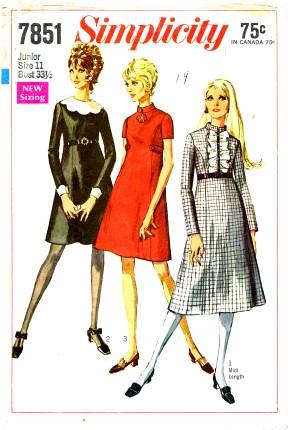 Simplicity 1968 7851