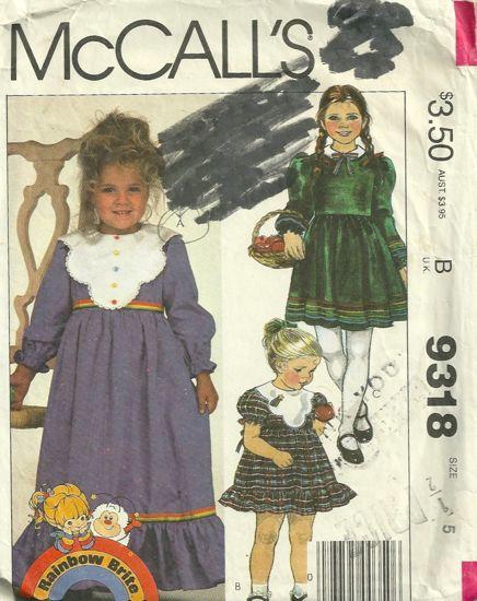 McCalls 9318 A