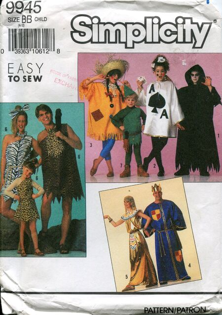 Simplicity9945costumes