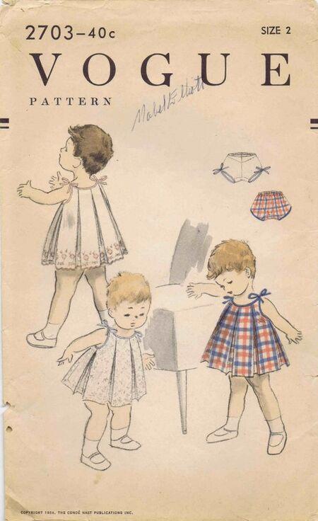 Vogue 1954 2703