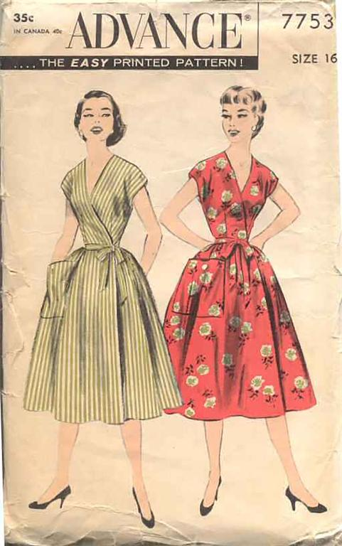 Advance 7753 Vintage Sewing Patterns Fandom Powered By