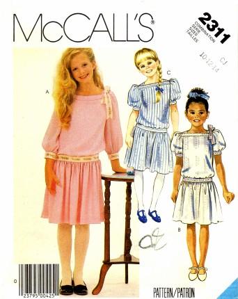 McCalls 1985 2311