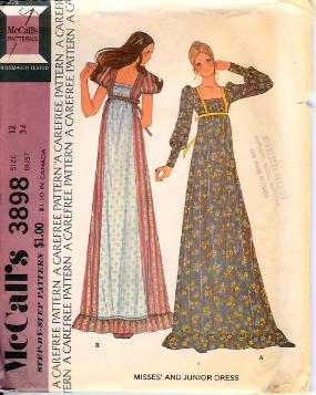 3898M 1970s Dress