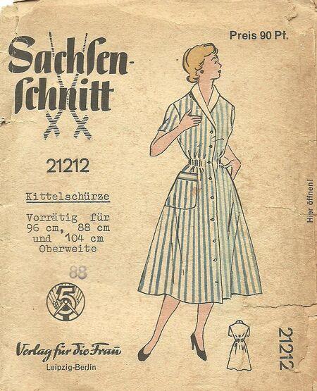 Sachsen Schnitt 21212
