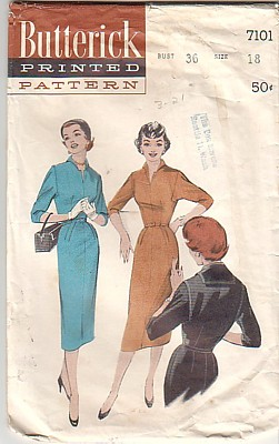 Butterick 7101 cover