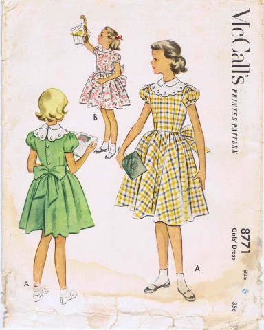 McCalls 1951 8771