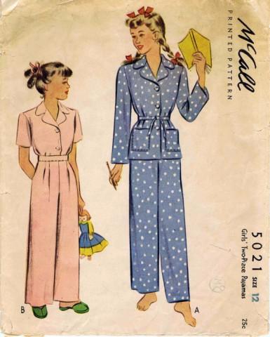 McCall 1942 5021