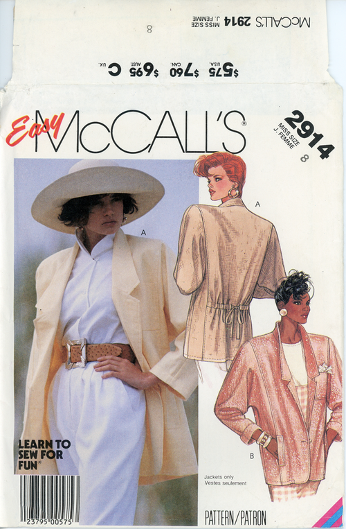 McCall's-2914front