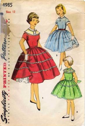Simplicity 1954 4985