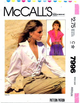 McCalls 7996