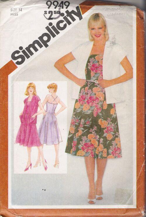 Simplicity 9949 A image