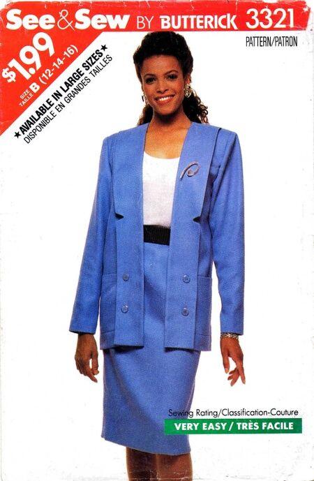 See & Sew 1989 3321