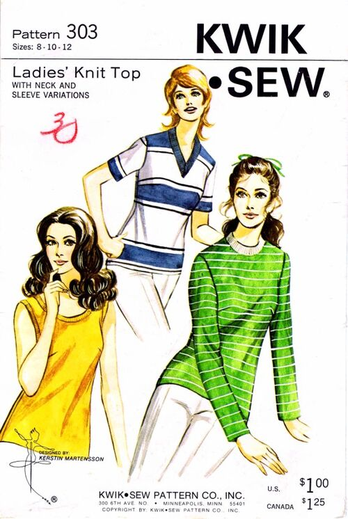 Kwik Sew 1970 303