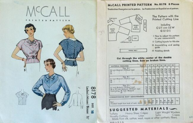 McCall 8178