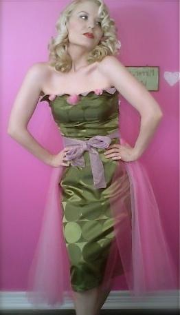 Petal Bust Dress 1