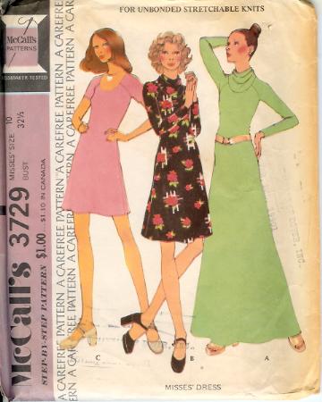 3729M-1973 Dress