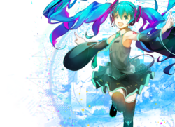 Miku bg color main4