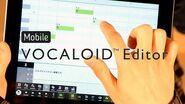 Mobile VOCALOID Editor PV