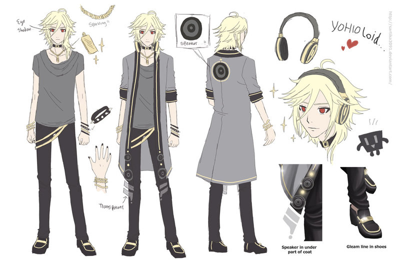 Anime Character Design Competition : Image yohioloid reference by sartika g vocaloid wiki