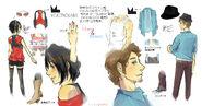 Rumple's Bruno and Clara Concept Art