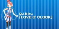 LOVE 'O CLOCK