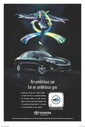 Hatsune Miku Toyota Corolla poster by zain7
