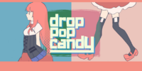Drop pop candy
