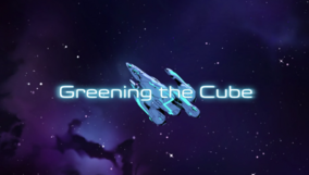 Voltron S2 Title Greening the Cube