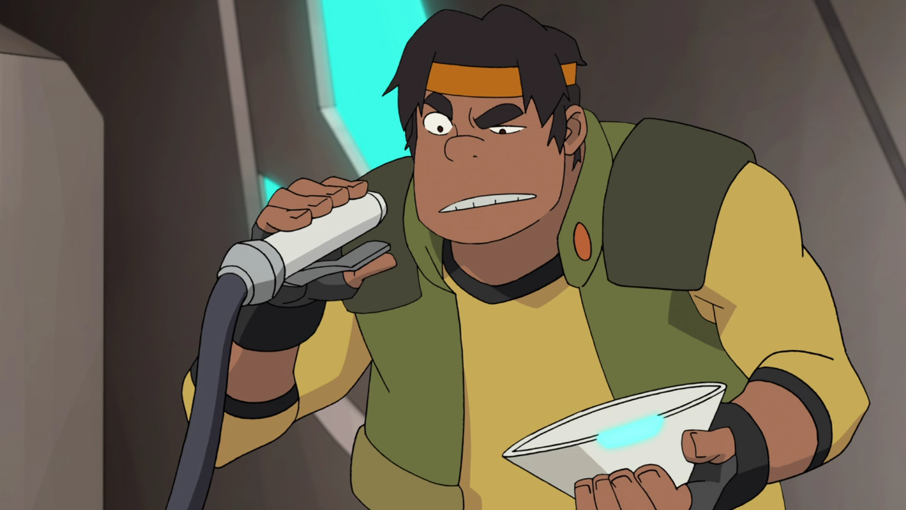 hunk voltron how tall